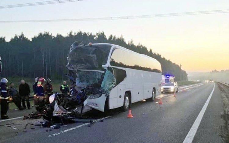 Во Владимирской области в аварию попал автобус, везущий вологодских туристов
